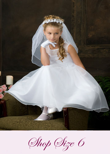 First Communion Dresses Size 6