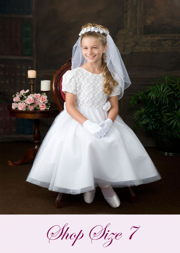 First Communion Dresses Size 7