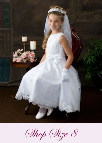 First Communion Dresses Size 8