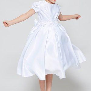 All Satin Cheap First Communion Dress