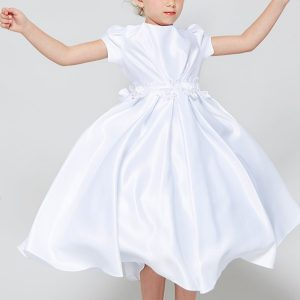 All Satin Inexpensive First Communion Dress