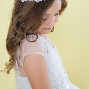 Beaded First Holy Communion Dress with Jacket