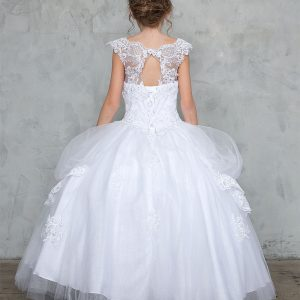 Extra Full First Communion Dress