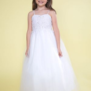 First Holy Communion Dress with Jacket