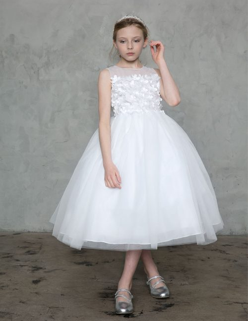 Flower Patch First Communion Dress Tulle
