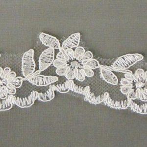 First Communion Veil Flower Lace