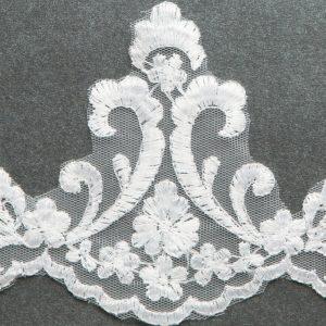Floral Lace First Communion Mantilla