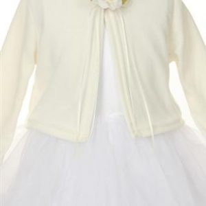 Ivory First Communion Cardigan Sweater