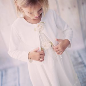 White First Communion Cardigan