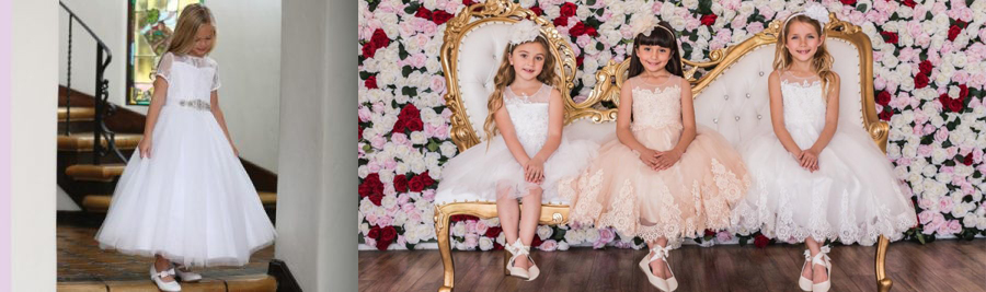 Buy First Communion and Flower Girl Dresses