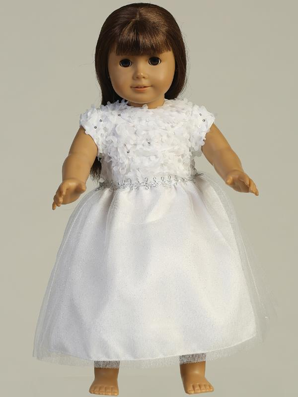 Chiffon and Tulle First Communion Doll Dress
