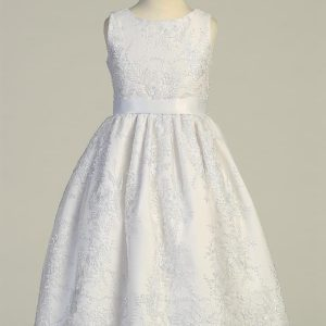 New Style Embroidered Tulle First Communion Dress