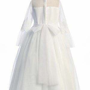Modest First Communion Dresses with Long Sleeves
