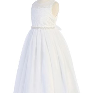 Girls First Communion Dresses and Veils