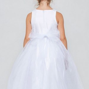 Solid tulle First Communion Dresses