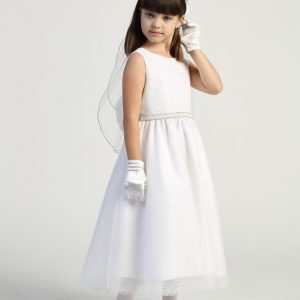 Adorable and Simple First Communion Dress