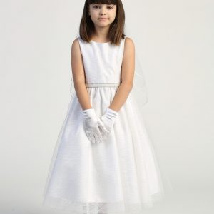 Girls First Communion Dress Simple and Modern