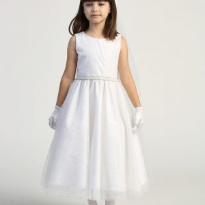 Modern and Simple First Communion Dress for this year