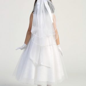 Simple First Communion Dress for Girls