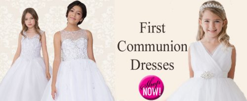 Affordable First Communion Dresses
