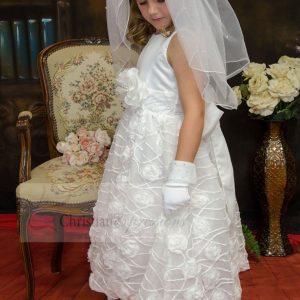 Chiffon First Communion Dress SIze 7
