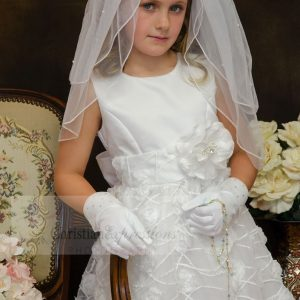 Chiffon First Communion Dress Size 10