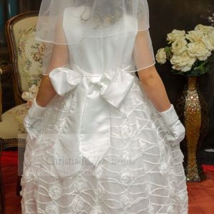 Chiffon First Communion Dress Size 6