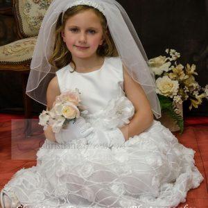 Chiffon First Communion Dress Size 8