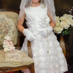 Chiffon First Holy Communion Dress