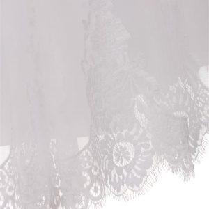 First Communion Dress Lace Hem