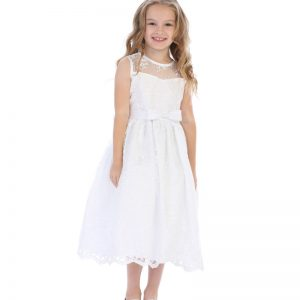 First-Communion-Dress-Satin-Bow-Embroidered-Tulle