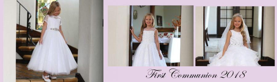 First Communion Dresses on Sale 2018