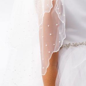 Holy Communion Veils with Pearls