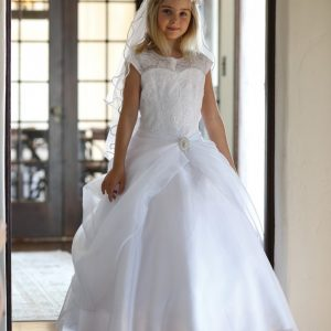 Girls Organza First Communion Dresses