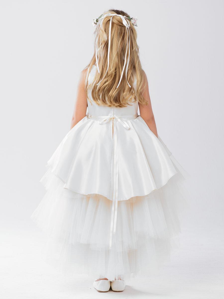 High Low First Holy Communion Dress Girls Communion