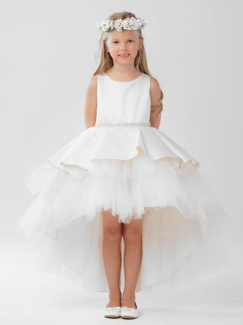 High-Low First Holy Communion Dress