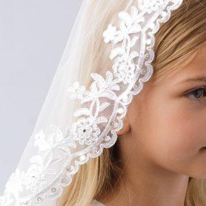 Lace Holy Communion Mantilla Veil