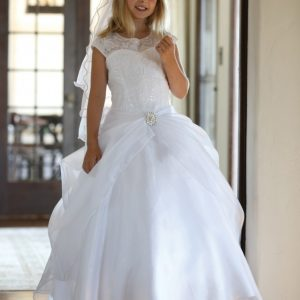 Organza First Holy Communion Dresses for Sale