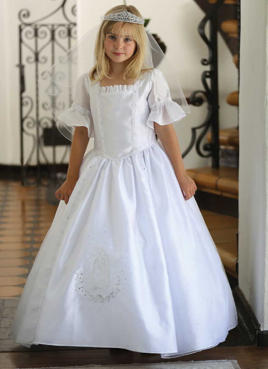 3e684d53c61 Our Lady of Guadalupe First Communion Dress