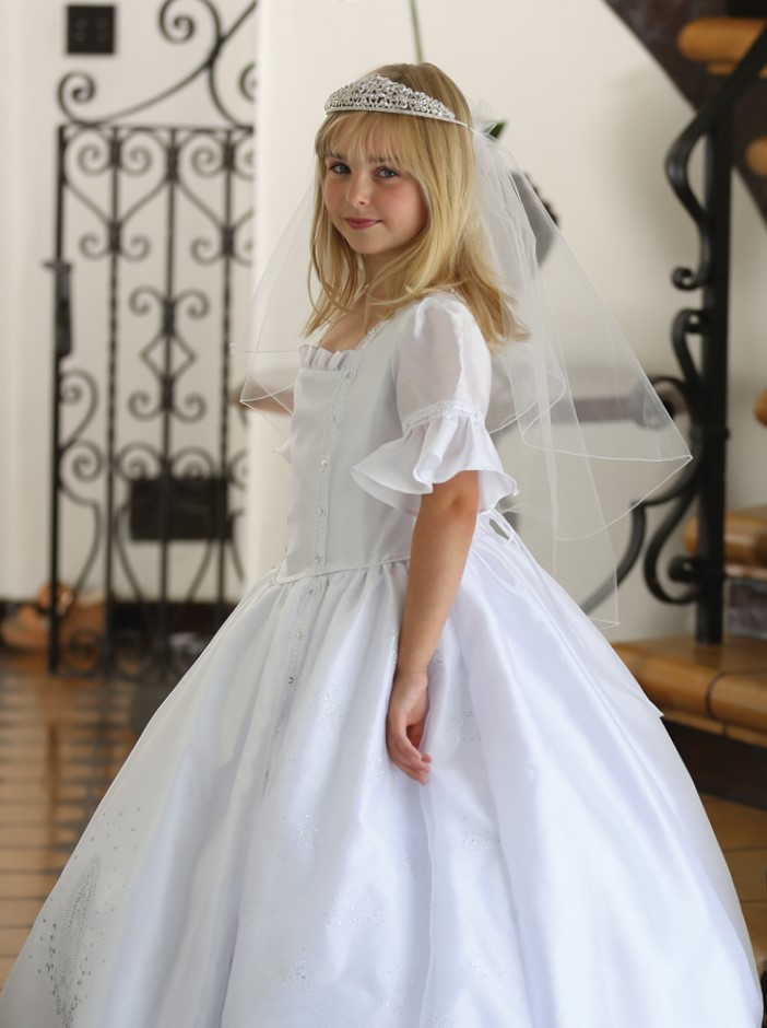 Our Lady Of Guadalupe First Communion Dress Spanish