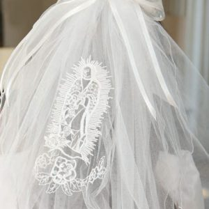 Spanish First Communion Veil Our Lady of Guadalupe