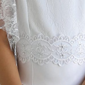 Beaded Lace first Communion Dresses