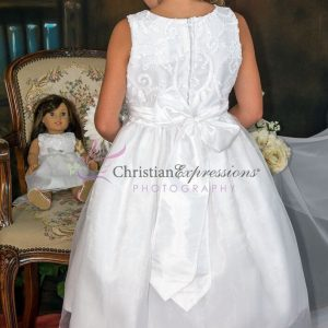Taffeta First Communion Dress Size 6