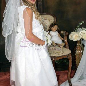 Taffeta First Communion Dress Size 8