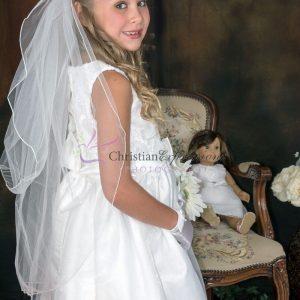 Taffeta First Communion Dress size 5
