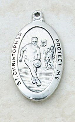 Catholic Sports Medals Basketball