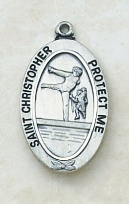 Catholic St Christopher Soccer Sports Medal