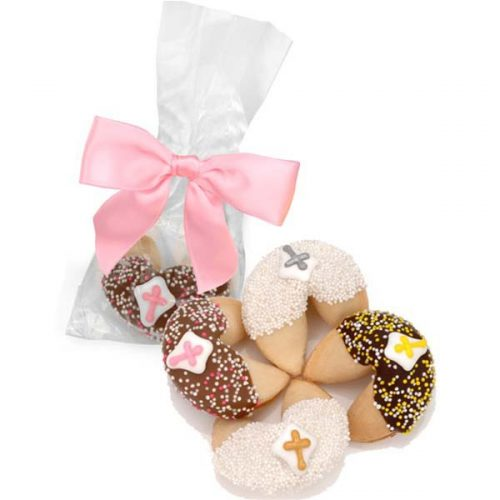 First Communion Fortune Cookie Favors with Cross