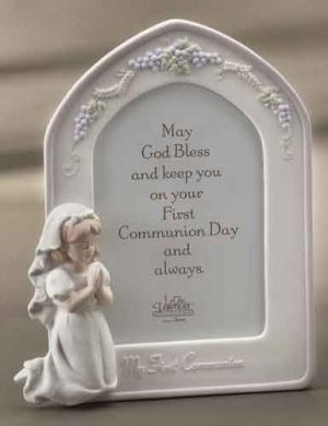 Girls First Communion Photo Frame