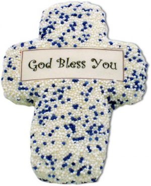 God Bless You First Communion Sugar Cookie Favors